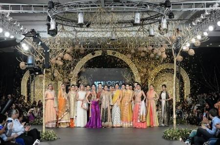 PFDC L'Oreal Paris Bridal Week 2013 by Sania Maskatiya