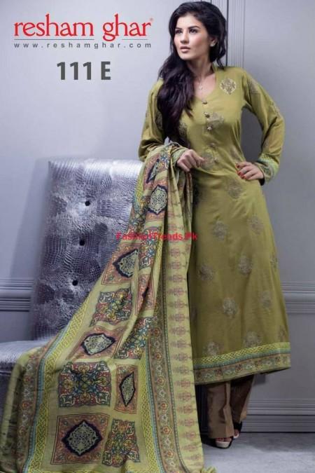Resham Ghar Women Fall Winter Dresses 2013