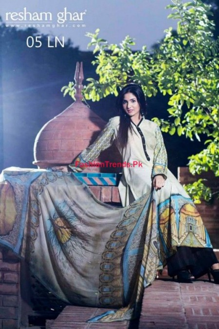Resham Ghar Fall Winter Dresses Collection 2013
