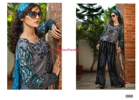Feminine Mid Summer Collection By Shariq Textile