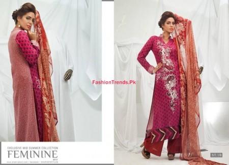 Feminine Mid Summer Dresses 2013