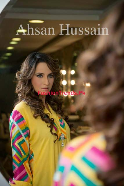 Ahsan Hussain Karnival Winter Collection For Women
