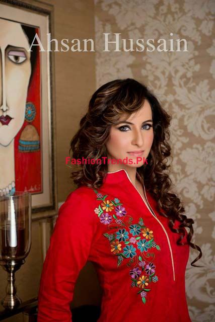Ahsan Hussain Karnival Collection 2013 for Winter