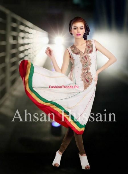 Ahsan Hussain Karnival Women Winter Collection 2013