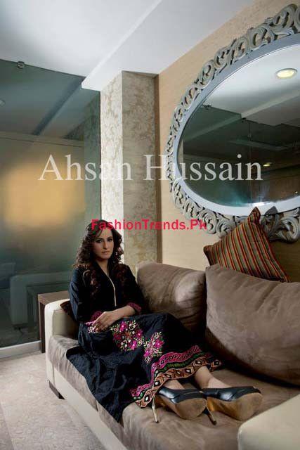 Ahsan Hussain Karnival Women Winter Collection