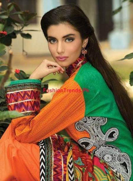 Umar Sayeed Winter Embroidered Dresses