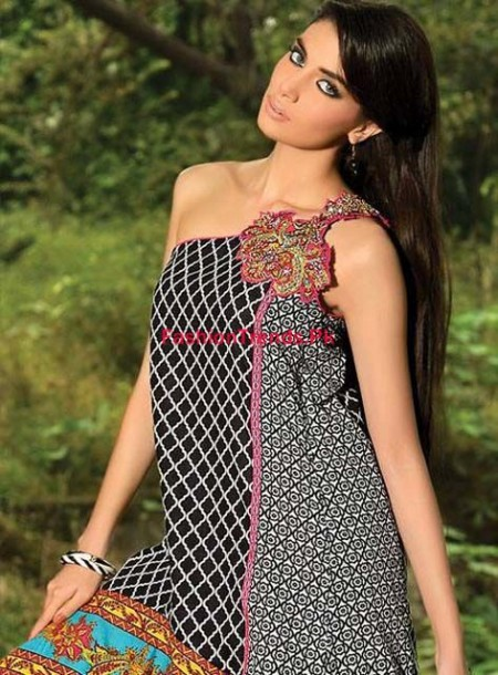 Umar Sayeed Winter Embroidered Dresses 2013