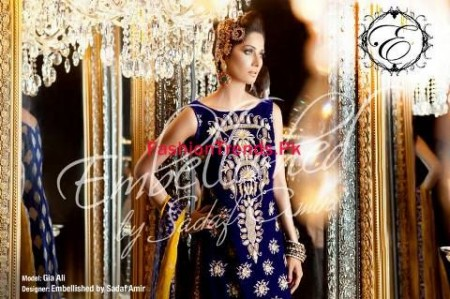 Embellished by Sadaf Amir Dresses 2013 for Winter