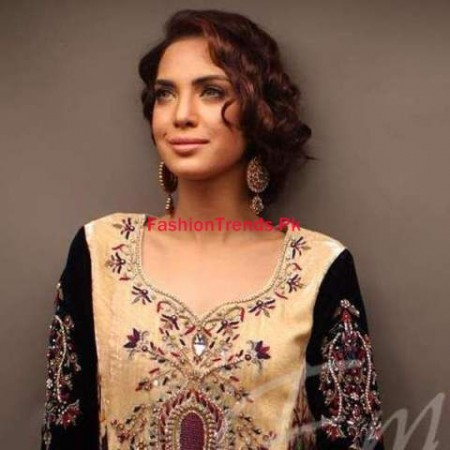 Embellished by Sadaf Amir Pakistani Formal Dresses 2013