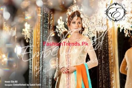 Embellished by Sadaf Amir Winter Dresses Collection