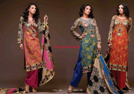 Exclusive Khaddar Women Collection 2013 By Sitara Textiles