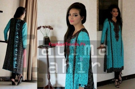 Fatima Tahir Winter Wear For Women 2013-2014