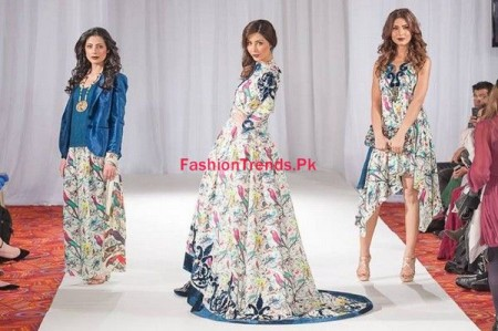 Gul Ahmed Collection 2013-2014 at Pakistan Fashion Week