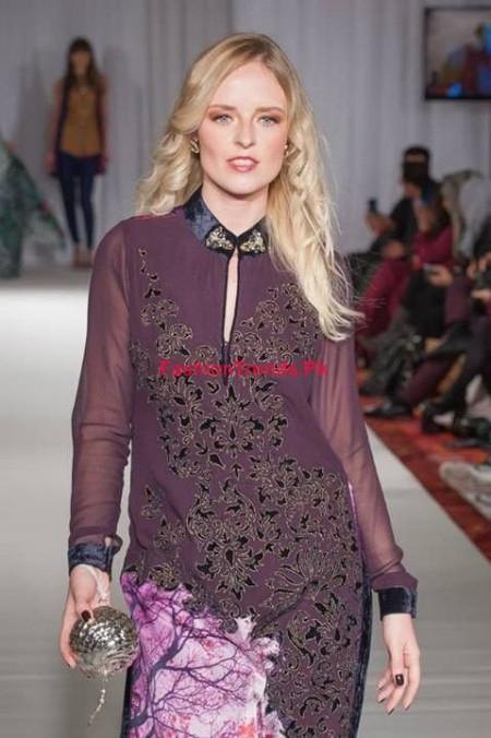 Gul Ahmed Winter Dresses For Women 2013-2014