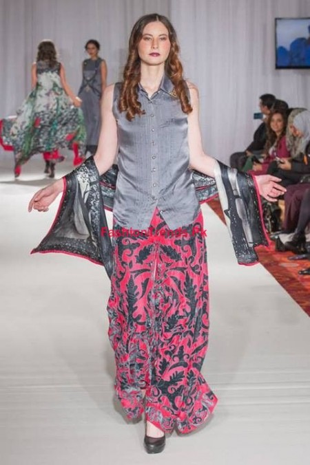 Gul Ahmed Winter Collection at Pakistan Fashion Week