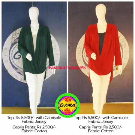 Gulabo Winter Casual Wear Dresses Collection 2013