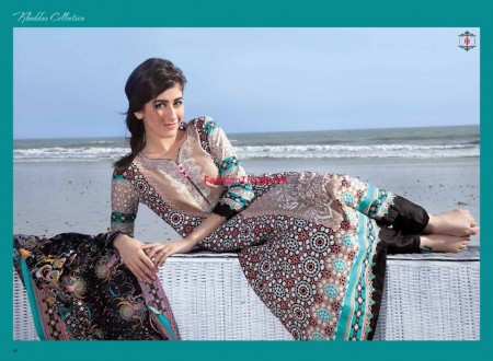 Ittehad Textiles Embroidered Khaddar Dresses Collection 2013