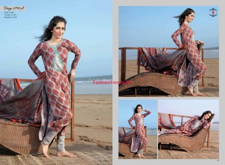 Ittehad Textiles Embroidered Khaddar Dresses 2013