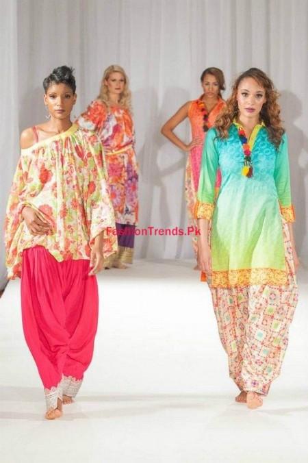 Pakistan Fashion Week Women Collection By Kiran Komal