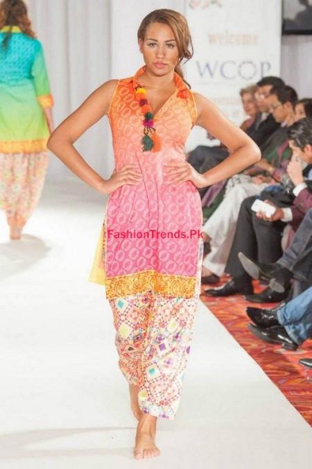 Pakistan Fashion Week Women Collection By Kiran Komal 2013-2014