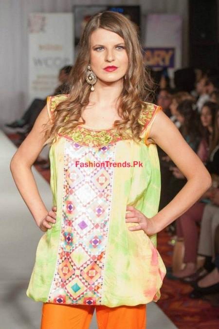 Kiran Komal Collection At Pakistan Fashion Week