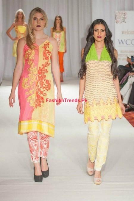 Kiran Komal Collection At Pakistan Fashion Week 2013-2014