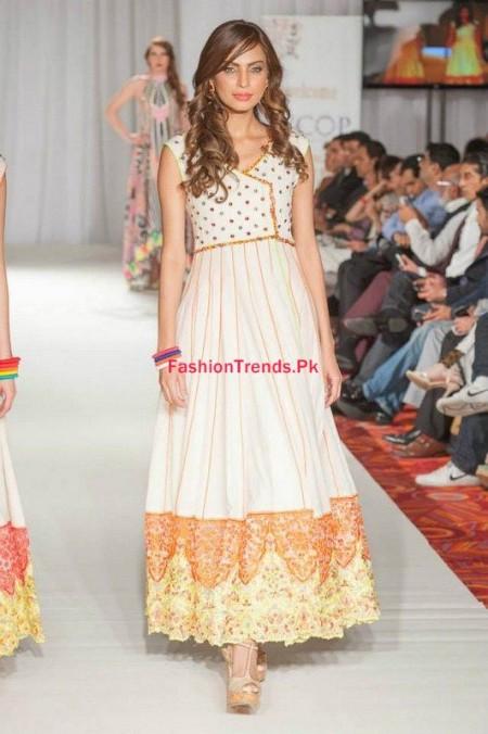 Kiran Komal Collection 2013-2014 At Pakistan Fashion Week
