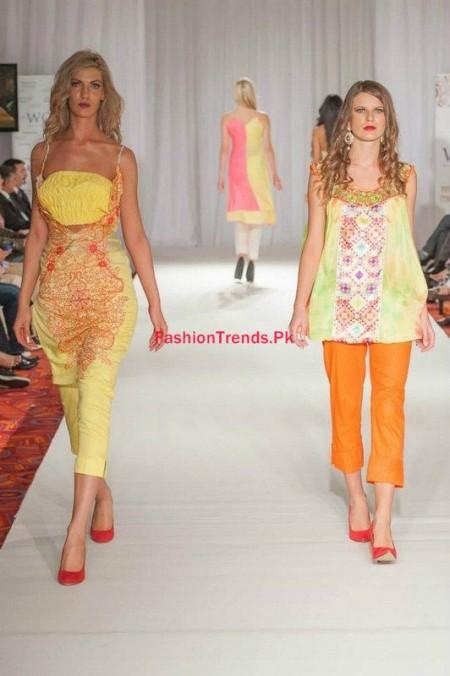Kiran Komal Collection 2013 2014 At Pakistan Fashion Week