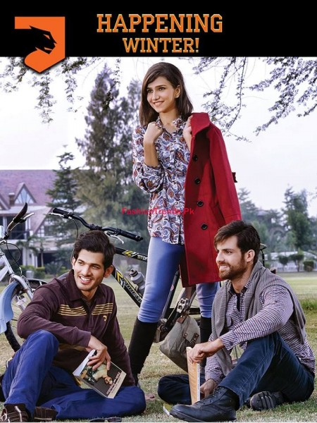 Latest Cougar Winter Dresses Collection For Men and Women