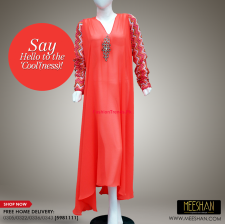Meeshan Winter Stylish Long Dresses For Women