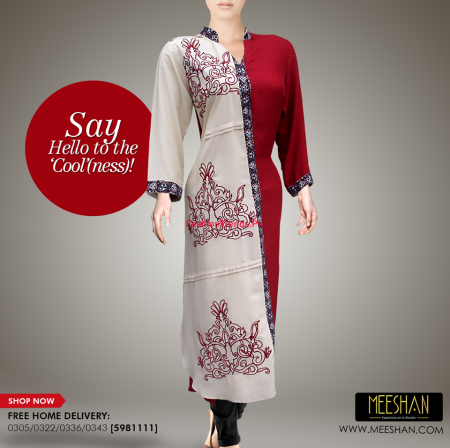 Meeshan Winter Long Stylish Dresses