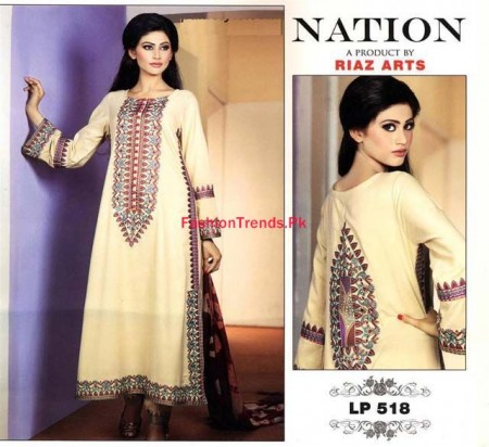 Nation by Riaz Arts Women Winter Collection 2013