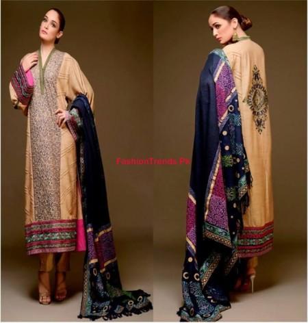 Party Wear Hadiqa Kiani Winter Collection 2013