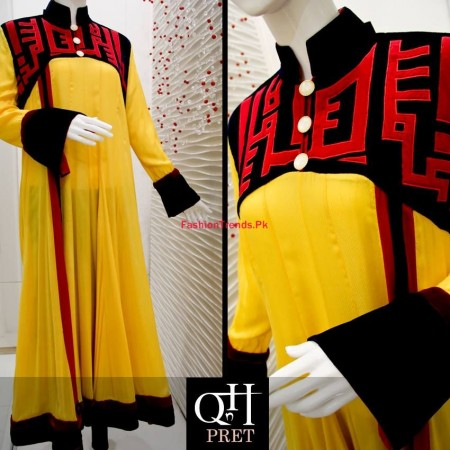 QnH Winter Long Shirt Collection For Women