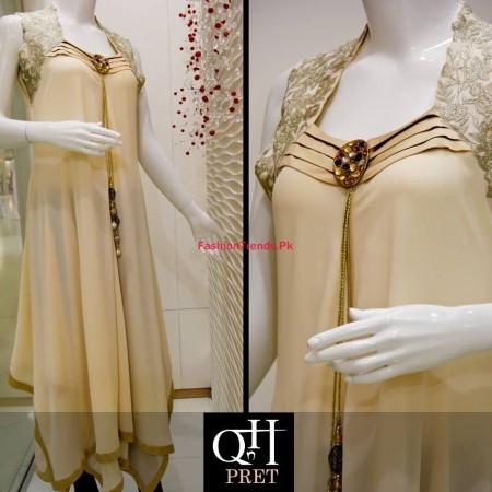 QnH Long Shirt Winter Dress Collection 2013