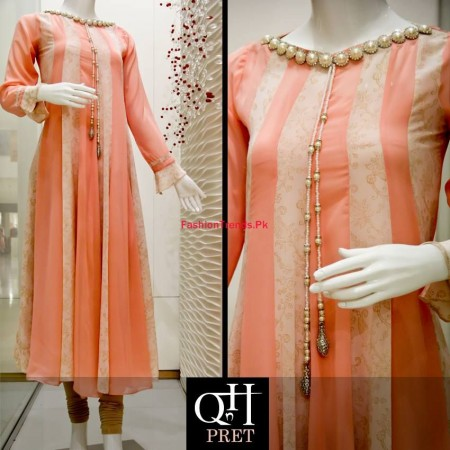 QnH Winter Long Shirt Collection For Women 2013