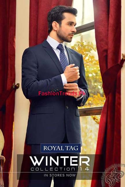Roya Tag Winter Collection 2013 For Men