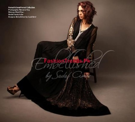 Embellished by Sadaf Amir Women Winter Dresses 2013