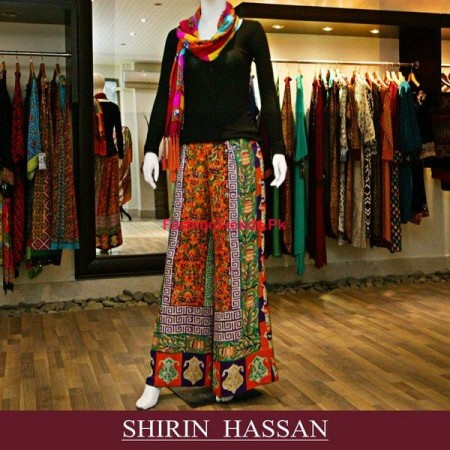 Shirin Hassan Winter Dresses Collection