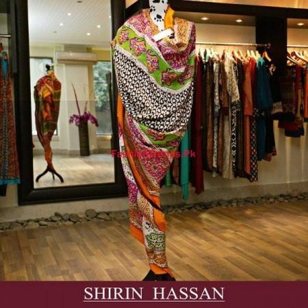 Shirin Hassan Winter Dresses 2013