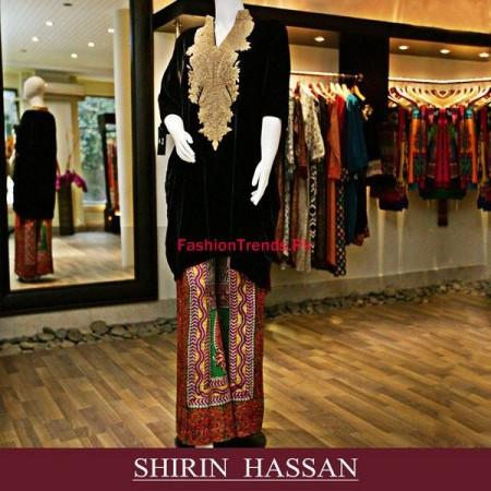 Shirin Hassan Winter Dresses For Women