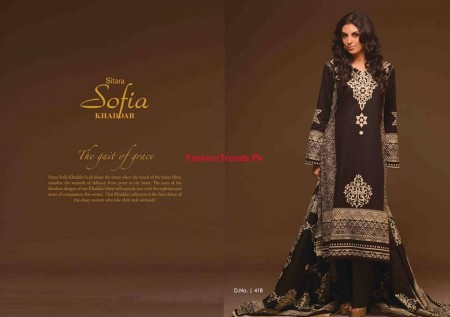 Sitara Sofia Winter Khaddar Dresses 2013