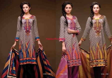 Sitara Textiles Women Khaddar Winter Collection 2013