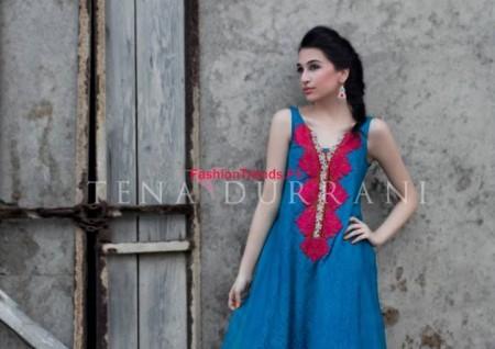 Tena Durrani Winter Dresses Collection 2013