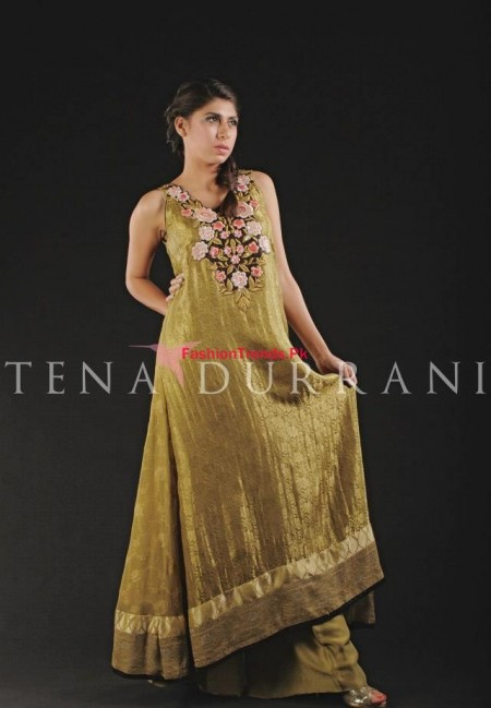 Tena Durrani Women Wear Dresses 2013