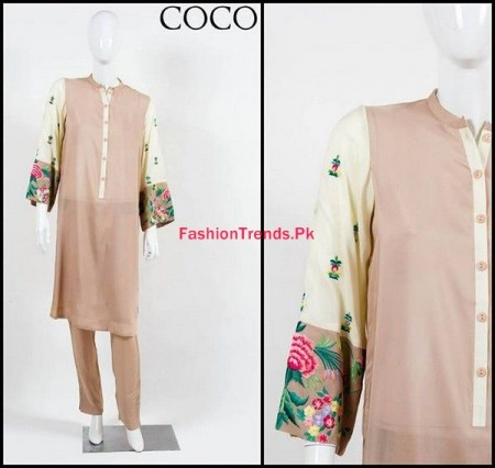 Coco by Zara Shahjahan Winter Dresses 2013 2014 for Women
