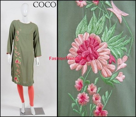 Coco by Zara Shahjahan Winter Dresses Collection