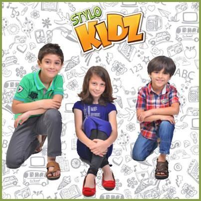Stylo Cute Kids Footwear Designs 2014