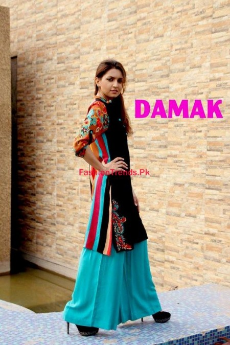 Damak Winter Dresses 2013 2014