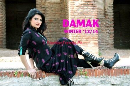 Damak Winter Dresses Collection